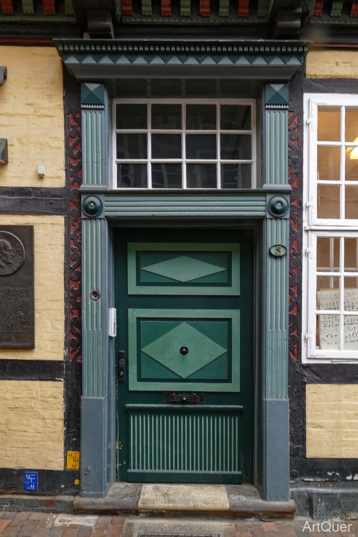 Detail Fachwerkhaus - Tür
