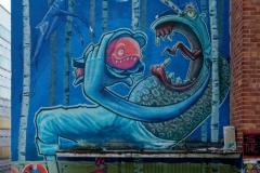 Graffiti auf dem Pfannigelände MünchenGraffiti auf dem Pfannigelände München